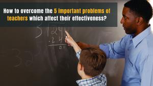 Problems of teachers